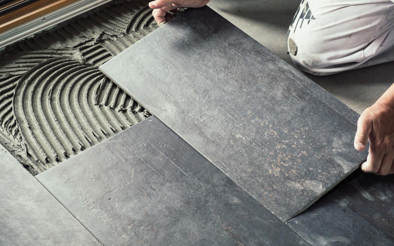 Tile installation | Flooring by Wilson's Carpet Plus
