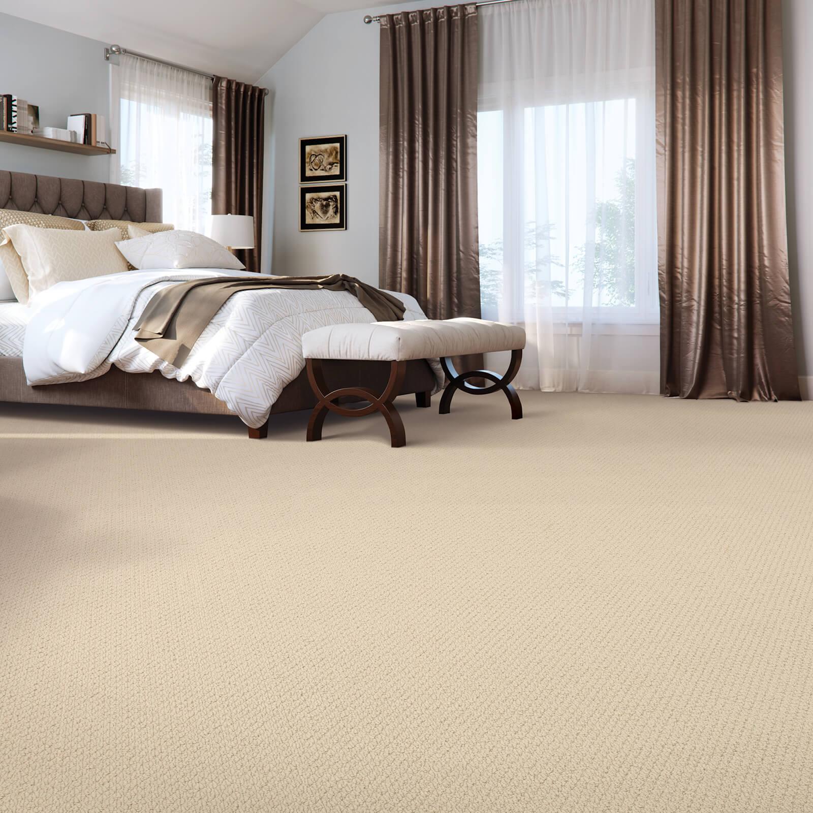 Casual beauty of bedroom | Flooring by Wilson's Carpet Plus