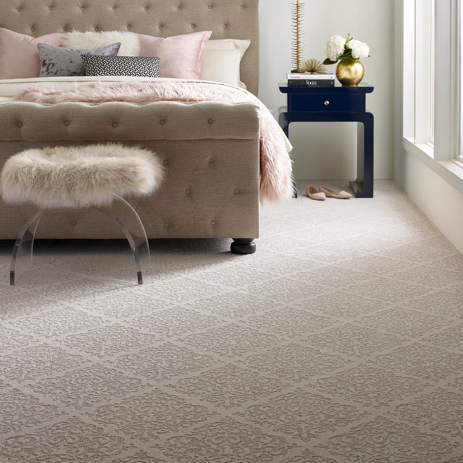 Chateau Fare Bedroom | Flooring by Wilson's Carpet Plus