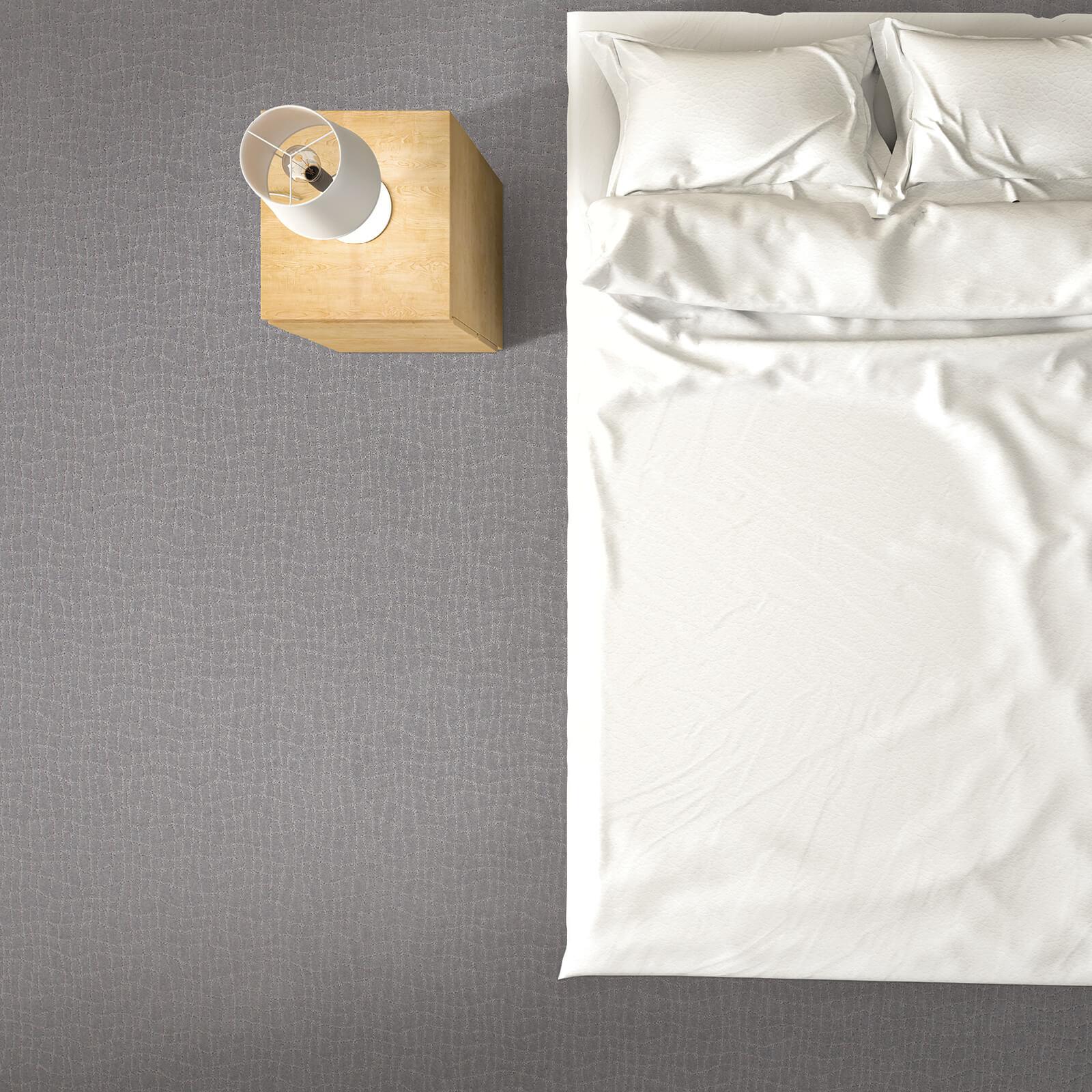 Posh appeal of bedroom | Flooring by Wilson's Carpet Plus