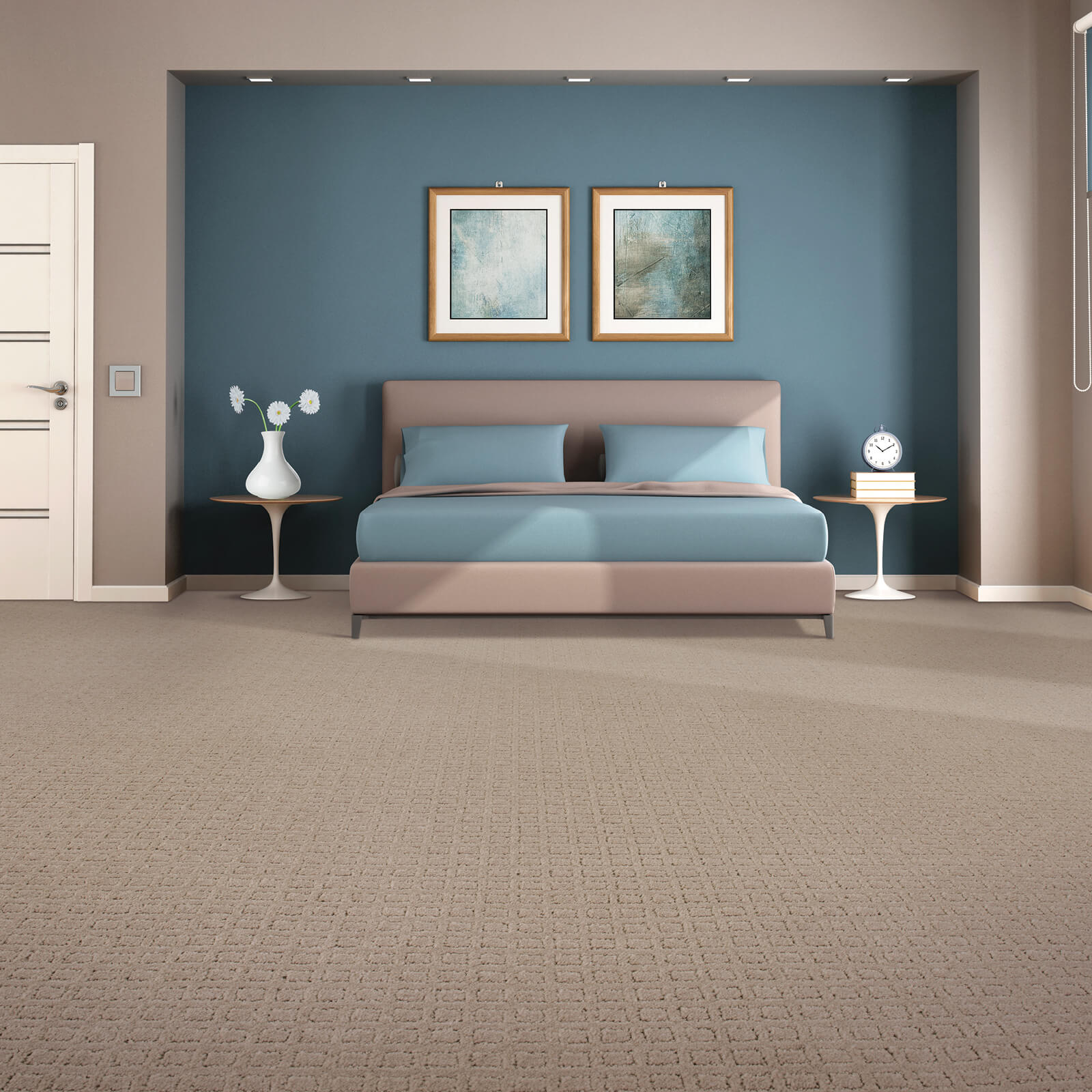 Traditional beauty of bedroom | Flooring by Wilson's Carpet Plus