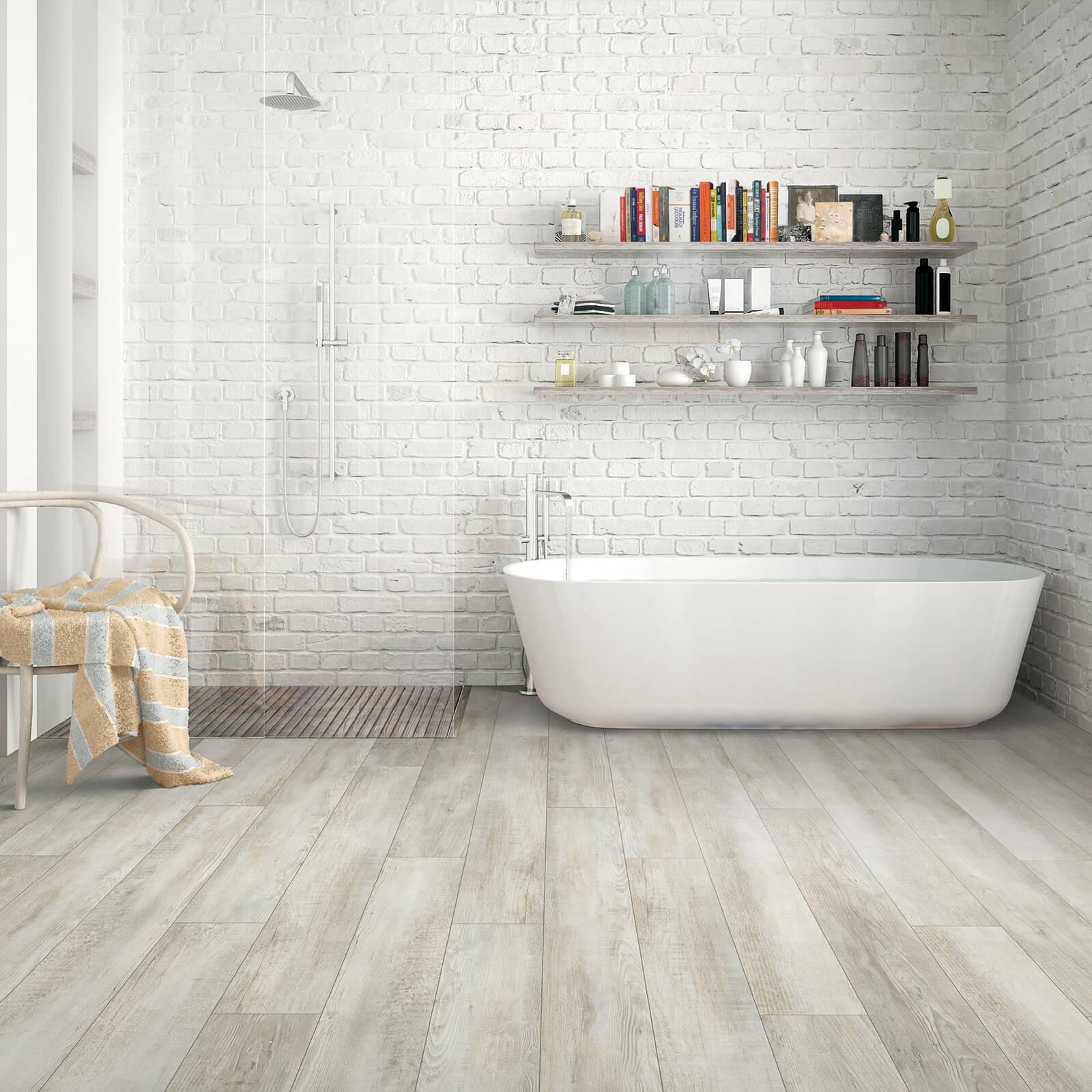 vinyl flooring in bathroom | Flooring by Wilson's Carpet Plus