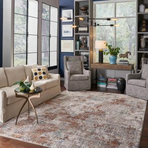 Area Rug in living room | Flooring by Wilson's Carpet Plus