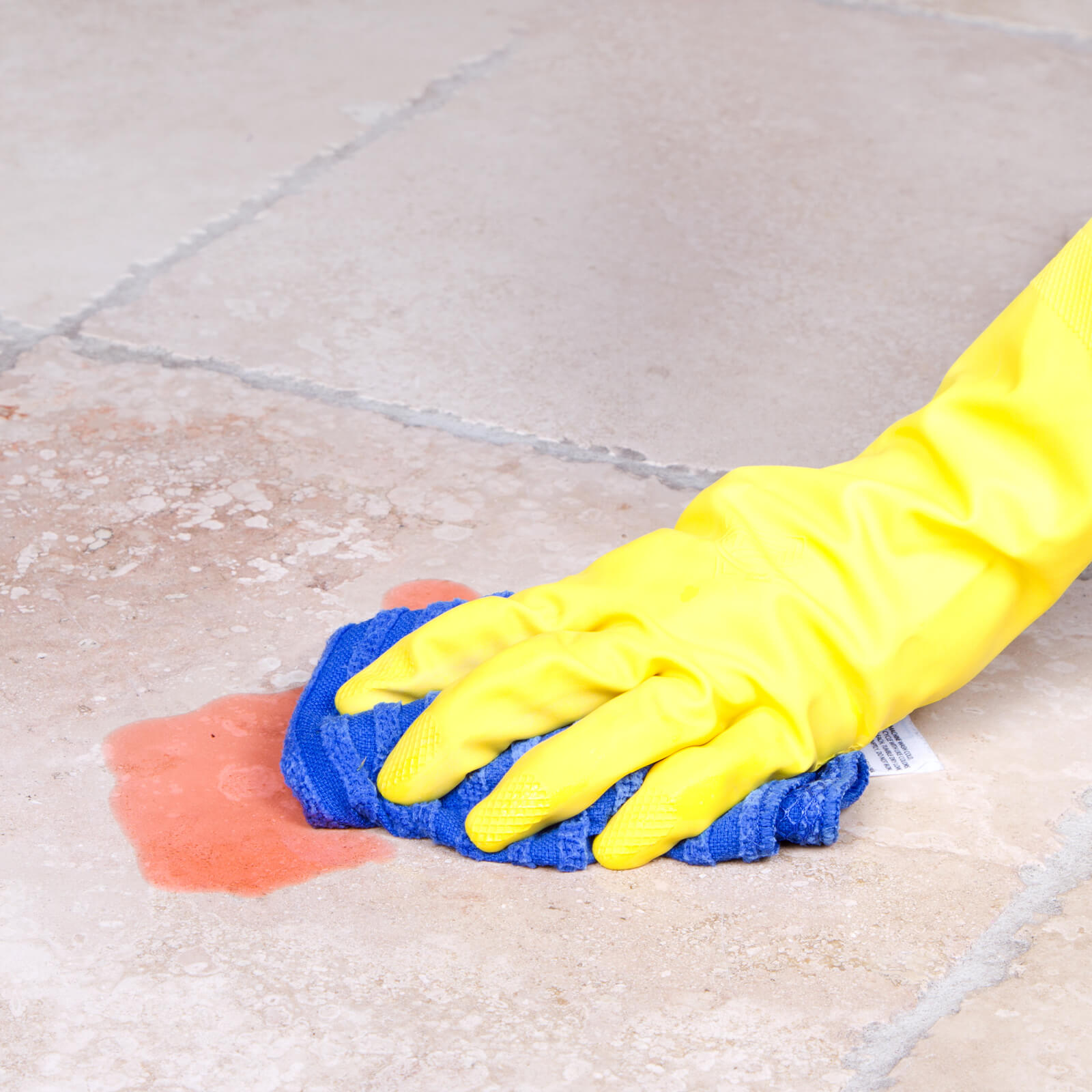 cleaning spill off of tile flooring   Flooring by Wilson's Carpet Plus