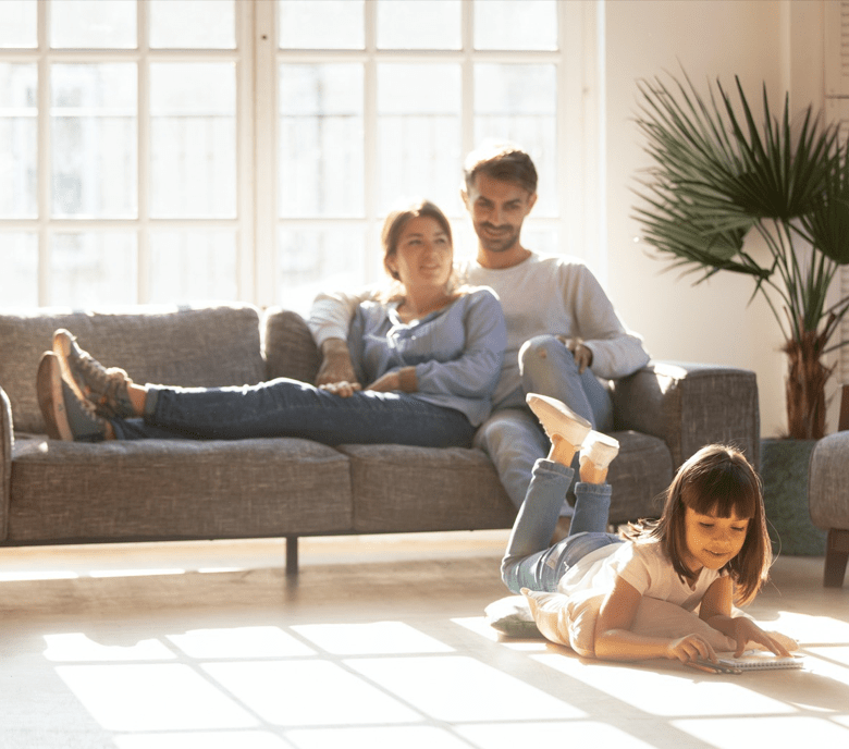 Comfortable carpet for living room | Flooring by Wilson's Carpet Plus