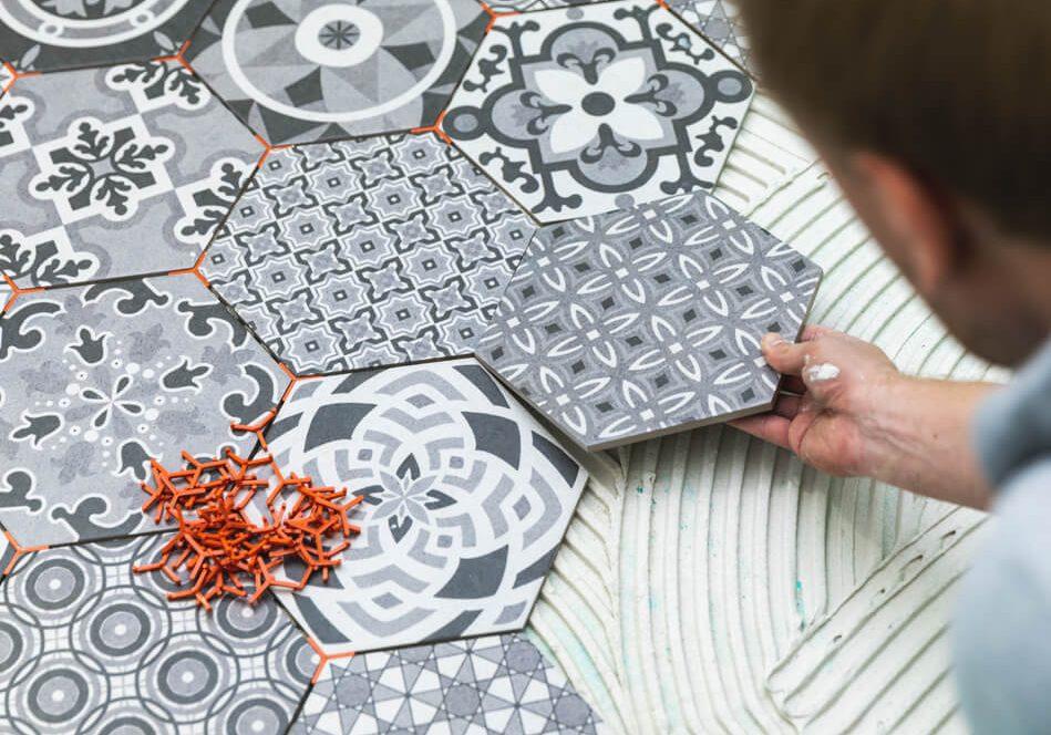 Ceramic tile installation | Flooring by Wilson's Carpet Plus
